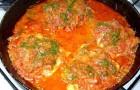 Рыба, тушенная с томатами в аэрогриле