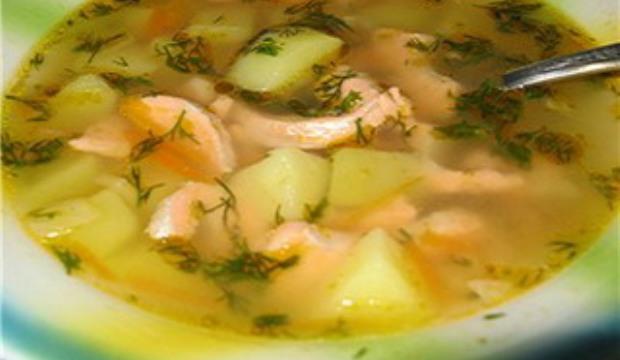 Рыбный суп с картофелем в скороварке