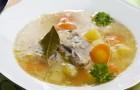 Рыбный суп с рисом в скороварке