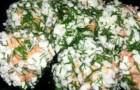Шарики из форели в пароварке