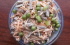Салат из куриных желудков в пароварке