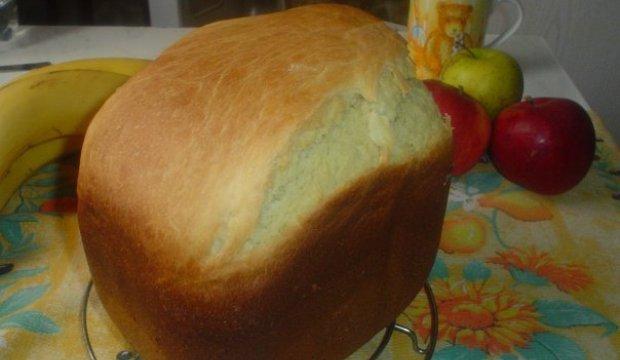 Сметанный сдобный хлеб в хлебопечке