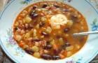 Суп «Фасолька» в скороварке