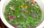 Суп «С грядки» в скороварке