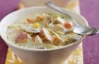 Суп грибной с курицей в аэрогриле