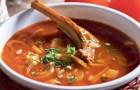 Суп из бараньей лопатки с мятой в скороварке