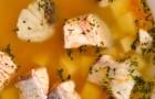 Суп из консервированной горбуши в скороварке