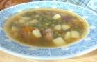 Суп из консервированной лососины в скороварке