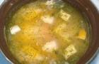 Суп из сома с яичным желтком в скороварке