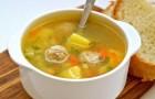 Суп из телятины с чечевицей и рисом в скороварке