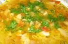 Суп прибалтийский со свининой в аэрогриле