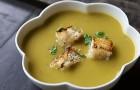 Суп-пюре гороховый в пароварке