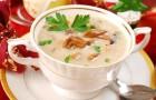 Суп-пюре из кролика с вешенками в скороварке