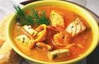 Суп-пюре из речной рыбы в пароварке