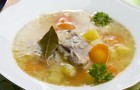 Суп рыбный с рисом в арогриле
