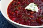 Суп рыбный со свеклой в арогриле