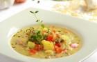 Суп с картофелем и болгарским перцем в скороварке