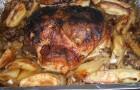 Свиная вырезка с хлебом в скороварке