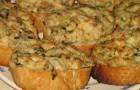 Сырно-чесночная начинка для бутербродов в пароварке