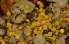 Цветная капуста с кукурузой в скороварке