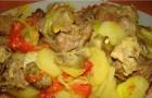 Телятина с картофелем в скороварке