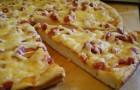 Тесто для пиццы и булочек в хлебопечке