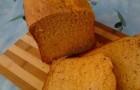 Томатно-сырный хлеб в хлебопечке