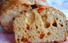 Томатный хлеб в хлебопечке