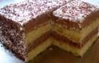 Торт «Сметанник» в мультиварке