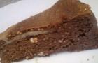 Творожная запеканка с какао в мультиварке