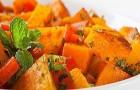 Тыквенный салат в пароварке
