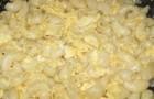 Вермишель с яйцами в пароварке