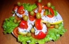 Закуска «Алые паруса» в скороварке