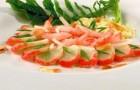 Закуска «Морские глубины» в скороварке