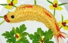 Закуска «Золотая рыбка» в скороварке
