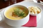 Картофельный суп по-литовски с натуральным йогуртом