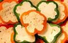 Перец, фаршированный сыром фета