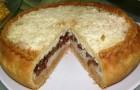 """Пирог """"Критский"""" с домашним творогом и мясом"""