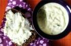Плавленый сыр с укропом