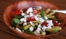 Салат с брынзой и фасолью