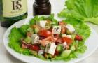 Салат с брынзой и сельдереем