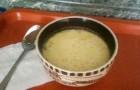 Суп с творогом и пивом