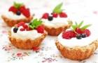 Тарталетки с йогуртом