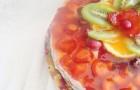 Йогуртовый торт-мусс