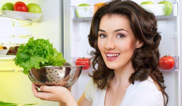 Свежие овощи для белизны зубов