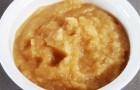 Пюре яблочно-тыквенное