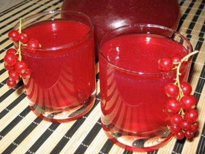 Сироп из красной смородины