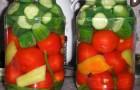 Томаты и огурцы маринованные (ассорти)
