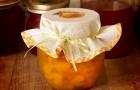 Варенье из нарезанных персиков