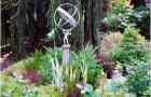 Обелиски, колонны в саду